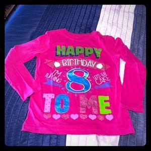 Happy 8th Bday L/S Top